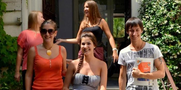 IH Rome students